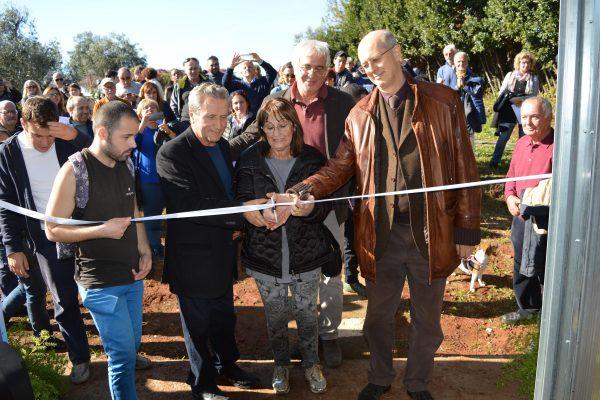 inaugurazione serra cooperativa garibaldi roma55