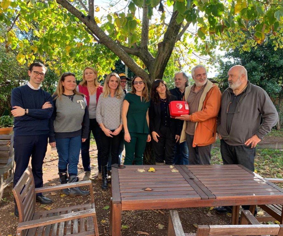 Una giornata nella Cooperativa Garibaldi per i dipendenti di Leonardo SpA