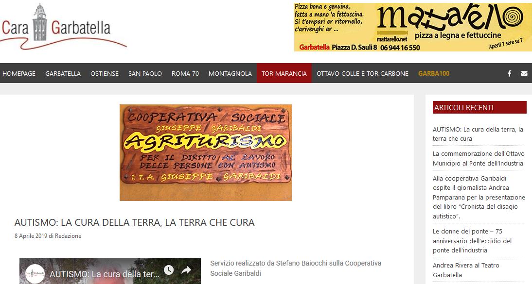 CaraGarbatella.it: il servizio sulla Cooperativa Garibaldi