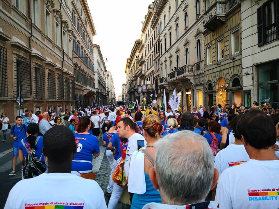 Disability Pride: nel cuore di Roma per sostenere le persone con disabilità