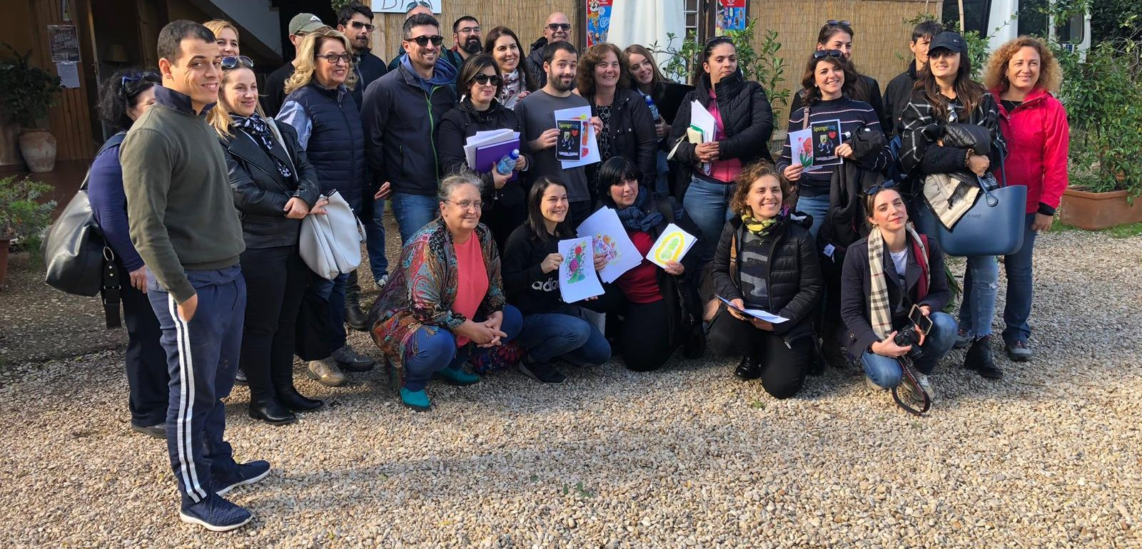 Delegazione dell'Agenzia per lo Sviluppo dell'Agricoltura Sociale della Sardegna in visita alla Cooperativa Garibaldi
